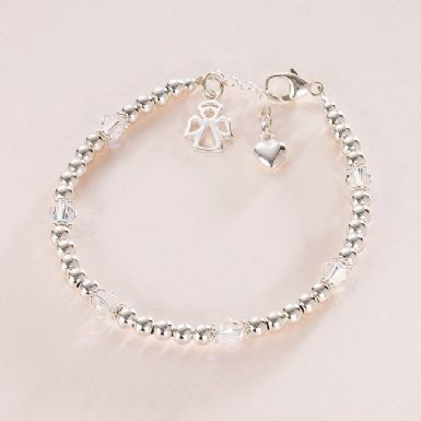 Sterling Silver Angel Bracelet | Someone Remembered